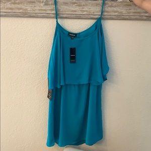 NWT Bebe short flowy dress